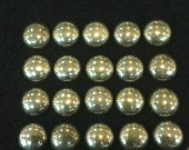 24pcs 8mm genuine Raw pyrite Round disc disco cabochons pyrite stone pyrite jewelry