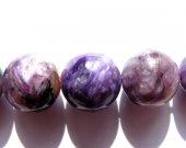 wholesale  Natural Charoite gemstone round ball  purple loose bead 6mm full strand