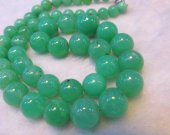 high quality genuine  green opal Amaonite necklace 4-12mm 17inch  Natual Amazonite stone  bead round ball jewelry beads