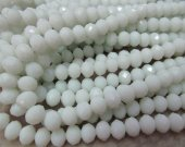 high quality 2strands 2x4-10x16mm Jade Rondelle  Abacus Faceted Beads Ruby lemon green  Blue Black Pink Red jewelry making supplies