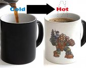 BioShock Color Changing Ceramic Coffee Mug CUP 11oz
