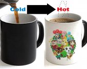 Animal Crossing Color Changing Ceramic Coffee Mug CUP 11oz