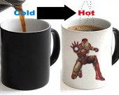 Ironman Color Changing Ceramic Coffee Mug CUP 11oz
