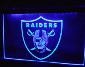 b74 Oakland Raiders Football beer bar pub club 3d signs LED Neon Light Sign