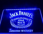 b06 jack daniel's Whiskey Old No. 7 Bar Beer pub club 3d signs LED Neon Sign man cave