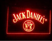 b-57 Jack Whiskey old no 7 beer bar pub club 3d signs LED Neon Sign