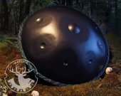 D-Minor9 nitrided Handpan instrument