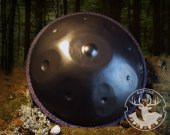 Handpan E-Romanian Hijaz, nitrided/ premium quality