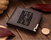 Metal Gear Solid MGS Legacy Leather Wallet