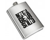 Metal Gear Solid MGS Legacy Liquor Stainless Steel Flask - 8 oz