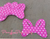 25 Minnie Mouse Bow Silhouette  Cutouts - different sizes