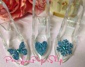 Princess Fairytale Cinderella or Frozen Elsa Slipper Favor Wedding Birthday