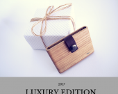 Wooden wallet,wood wallet,wooden card holder,gift for men,handmade wallet,men's wallet,natural wallet