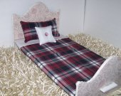 "Comforter | Matching Pillows | For 18"" Dolls 