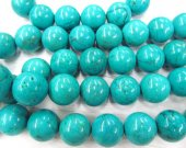 2strands 2-20mm Stabilized  Turquoise Gemstone  Round  Ball Multicolor Loose Beads