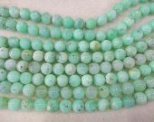high Quality Genuine Chrysoprase  Chrysoprase Round  Balls Beads- Green Chrysoprase Beads Chrysoprase Necklace  4-12mm 16inch