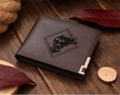 Destiny The DARKNESS Symbol  Leather Wallet