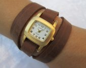 Women Leather Watch, Woman Leather Watch, Custom Watch, Leather Watches For Women, Wrist Watch Woman, Watches For Women, Brown Leather Watch