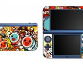 Taiko No Tatsujin NEW Nintendo 3DS XL LL Vinyl Skin Decal Sticker