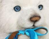 Teddy Bear, Teddy bear artist,collectible bear, 9 inches collectible bear, Very nice, bright and real