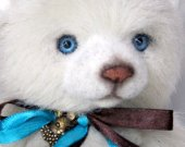 Teddy Bear, Teddy bear artist,collectible bear, 9 inches collectible bear, Very nice, bright and real, NIKOLAS