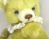 Teddy bear Dennis, Teddy bear artist, OOAK, collectible bear, 9.2 inches
