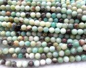 2strands 3-16mm Natural Amazonite Beads Wholesale Gemstones Round Ball Rainbow Amazonite Crystal