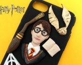 Harry Potter Phone Case, Decoden iPhone 4, 5/5s, 6/6s, 7/7+ Kawaii Phone, Pie, Decoden Phone case,Kawai