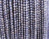 Wholesale 4-16mm full strand Tanzanite Beads, Genuine Tanzanite Gemstone Beads,  Blue Tanzanite Stone Beads