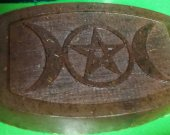 Triple Moon and pentacle Protection Soap
