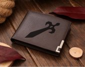 Leather Wallet  Super Mario Smash Bros Fire Emblem Logo