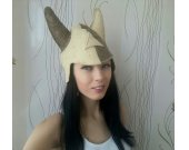 "Sauna hat made of felt  ""Viking"""
