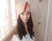 """Sauna hat made of felt """"Kubanka"""""""