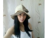 "Sauna hat made of felt ""Madam"""