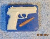 "Handmade soap ""Pistol"""