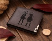 Leather Wallet Nier Automata 2B and 9S