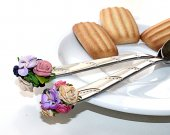 Wedding gift Personalized cutlery 2 Spoons Hand made