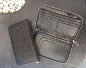 Leather Wallet, Zip Around Wallet, Python Wallet, Snakeskin Wallet, man Leather Wallet, Zip Wallet, handmade wallet