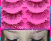 10 Pairs Natural Look False Eyelashes