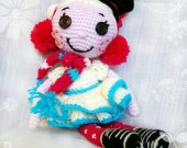 For kids Lalaloopsy Unique gift Soft dolls Handmade toys Stuffed toy Baby Shelf decor Bed doll Crochet Custom Nursery