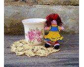 Miniature Crochet Doll - Amigurumi Doll