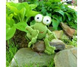 Frog - Crochet Amigurumi Stuffed Animal/Doll