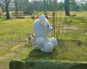 Angel Bear - Crochet Amigurumi Stuffed Animal/Doll