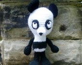 Panda Bear - Crochet Amigurumi Stuffed Animal/Doll
