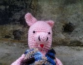 Pig Stuffed Animal/Doll - Crochet Amigurumi