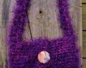 Purse/Bag - Crochet Purple Fury