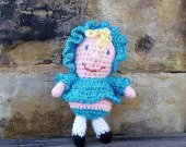 Doll - Crochet Amigurumi Stuffed Animal/Doll