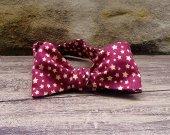 Bow Tie - Rustic Patriotic Stars Print Free Style