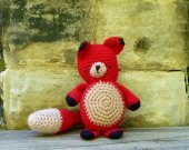 Toy Fox - Crochet Amigurumi Stuffed Animal/Doll