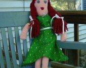 Doll - Vintage Style Crochet Amigurumi Toy